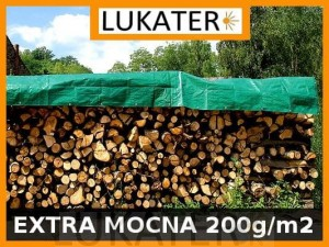 Plandeka do drewna 1,5x6 200g/m2 UV