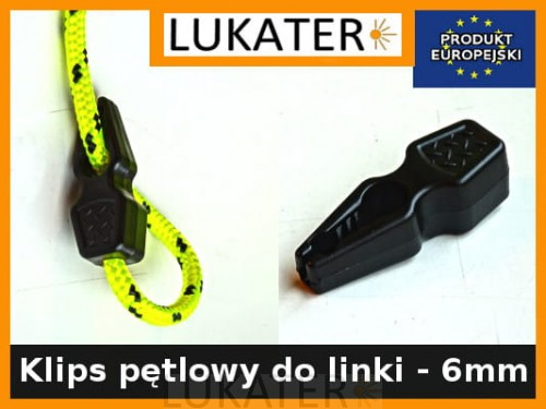 Hak pętlowy do linki 6mm