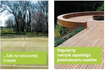 algoclear czyszczenie drewna